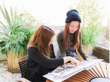 【人気女性stylist中心】《カット+カラー¥3700》プライベートな空間…こだわりをしっかり理解してくれる♪