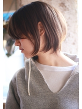 【+~ing 】おとな可愛い小顔ショートボブ【柳沼くるみ】 .11