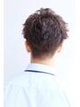 メンズ30代好印象メガネビジネス刈り上げショート人気◎髪型