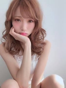 【the  F】大人可愛い♪ゆる巻きセクシーミディ☆