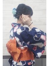 浴衣☆アレンジアップスタイル.28