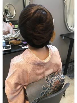 【着物ヘア】お仕事におすすめ和髪 ヘアセット
