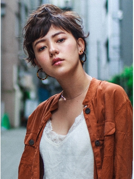 【arts lita 町田】外国人風マッシュショートボブ