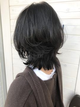 [OCEAN Hair&Life]くすみカラー☆ショートウルフ☆