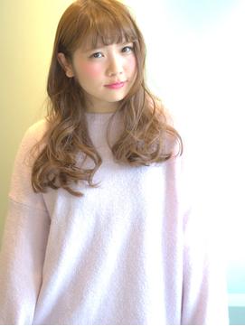 【GiseL】シースルーバングふわミディ