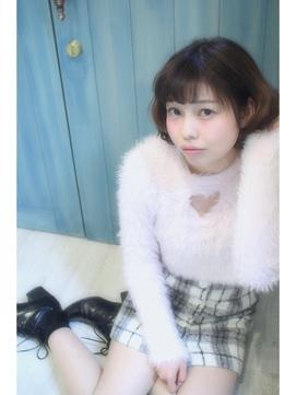 "【Feria 渋谷】☆ゆるふわショートボブ☆ ""石田幸輔"