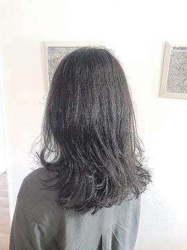 アンティークグレージュ×透明感カラー×イルミナカラー×前髪