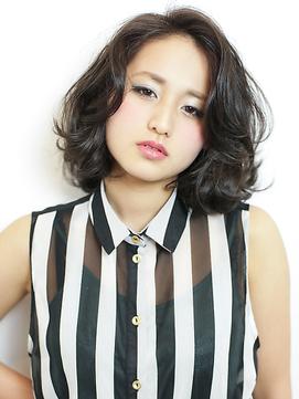 【MODEK's吉祥寺】黒髪ボブ×デジタルパーマ×イルミナカラー