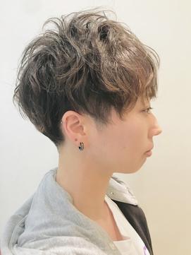 甘辛MIX刈り上げツーブロックショート【RENJISHI 松岡】
