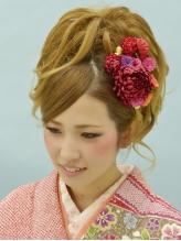 【プレストベル】 スジカールアップ K-04 盛り髪.54
