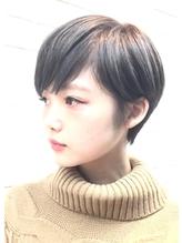【PHASE/三畑賢人】小顔似合わせグレージュショート◎青山 50代.49