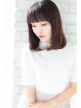 【canon】ツヤとまとまり☆前下がりミディアムボブ.18