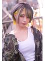 ☆CAPSULE☆ショート インナーカラー グレージュ&イエロー