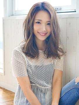 《Agu hair》井川遥風ゆるふわ色っぽセミロング☆