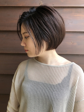 【PACO】大人ショートボブ☆前下がりショート☆秋髪