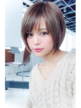**GemGarden**5分�簡�セット☆ピンクアッシュショートヘア