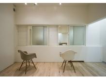 白を基調としたプライベート空間でゆっくりとした贅沢な時間を!
