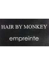 ヘアーバイモンキー(Hair by Monkey)