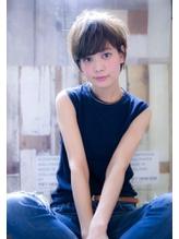 【ROJITHA】 くせ毛風ゆるふわショート×クールブラウン ブライダル.47