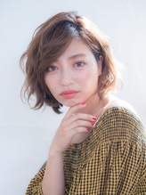 束感出やすいカラーのショートスタイル☆ 伸ばしかけ.55
