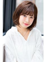 【HONEY表参道】斜めバングクラシカルミディアム(山本剛).38