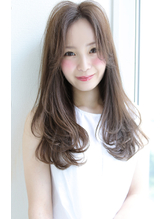 【Rose/石橋】ひし形シルエット_カール_ベージュカラー★★.59