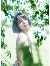Au-rougeBOSS美髪コレクション「大人ボブ」アッシュグレー.30