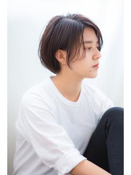 【aRietta馬場】センシュアルショート×小顔大人かわいい