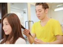 【髪質改善】髪の特徴やクセを正確に見極めた上での施術が大切。