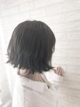 外ハネ+柔らかダークグレージュ <zina 佐藤>.24