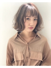 【first長町】シアーベージュボブ.18