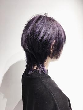 【ADDICT_YuuYa】マッシュウルフ_パープルラベンダー