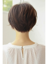 【knot】ひし形シルエットの束感ショート  3 .54