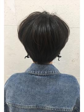 ダークグレージュショートスタイル【本間 大貴】
