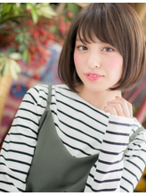 *+COVER HAIR+*…シンプル is the BEST!ナチュボブa 小頭.26