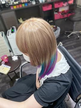 milk tea × vivid unicorn color TRICKstyle!