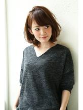 【Un ami】小顔ワンサイド・タンバルモリ ミディー 松井 OL.13