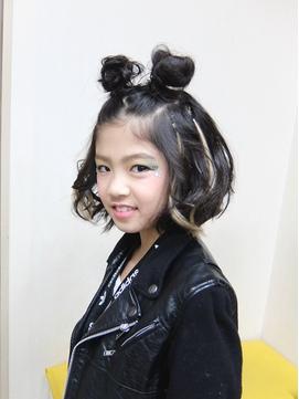 キッズダンサー 髪型