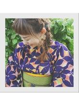 浴衣◆編み下ろしヘアアレンジ.22