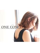 【ONE CONCEPT】大人女性のための上品外ハネボブ.24