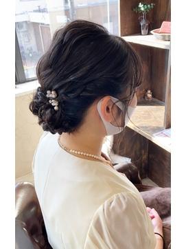 emue京都◯20代30代ルーズ感人気結婚式ヘアアレンジ◯中島