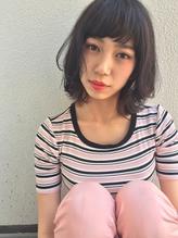 黒髪揺れ髪柔らかミディアム・天神kchiara川野直人 涼しげ.50