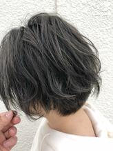 《Quarto hair》透明感グレーカラー.10