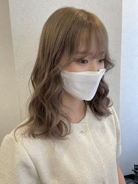 【ulu by VISEO yui】ミルクティベージュ
