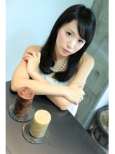 黒髪でも似合う☆ナチュゆるセミロング♪ 就活.60