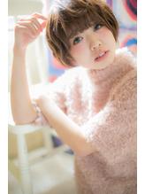 *mod's千葉*…ふわくしゅ可愛い★重めマッシュショートa.43