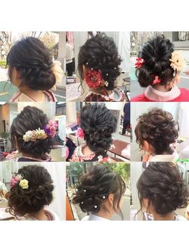 成人式、卒業式 hair correction vo.4