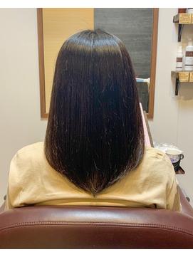 【松山裕也】髪質再生ストレート