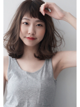 【air-GINZAtower】前髪短めのハッピーミディアムヘア .13