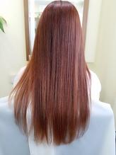 hair sos ヌーディーピンクベージュ グラデーションカラー♪ .26